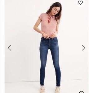 "Madewell Tencel Danny Edition Skinny Jean 10"""